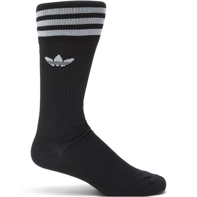 3-Pack Solid Crew Sock