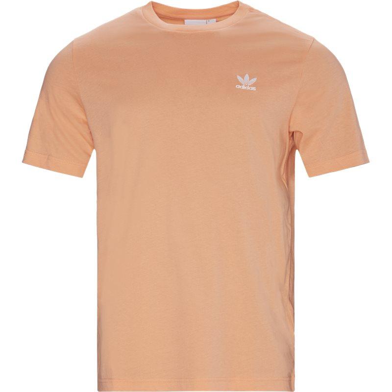 adidas originals essential tee fm9963 t-shirts coral fra adidas originals