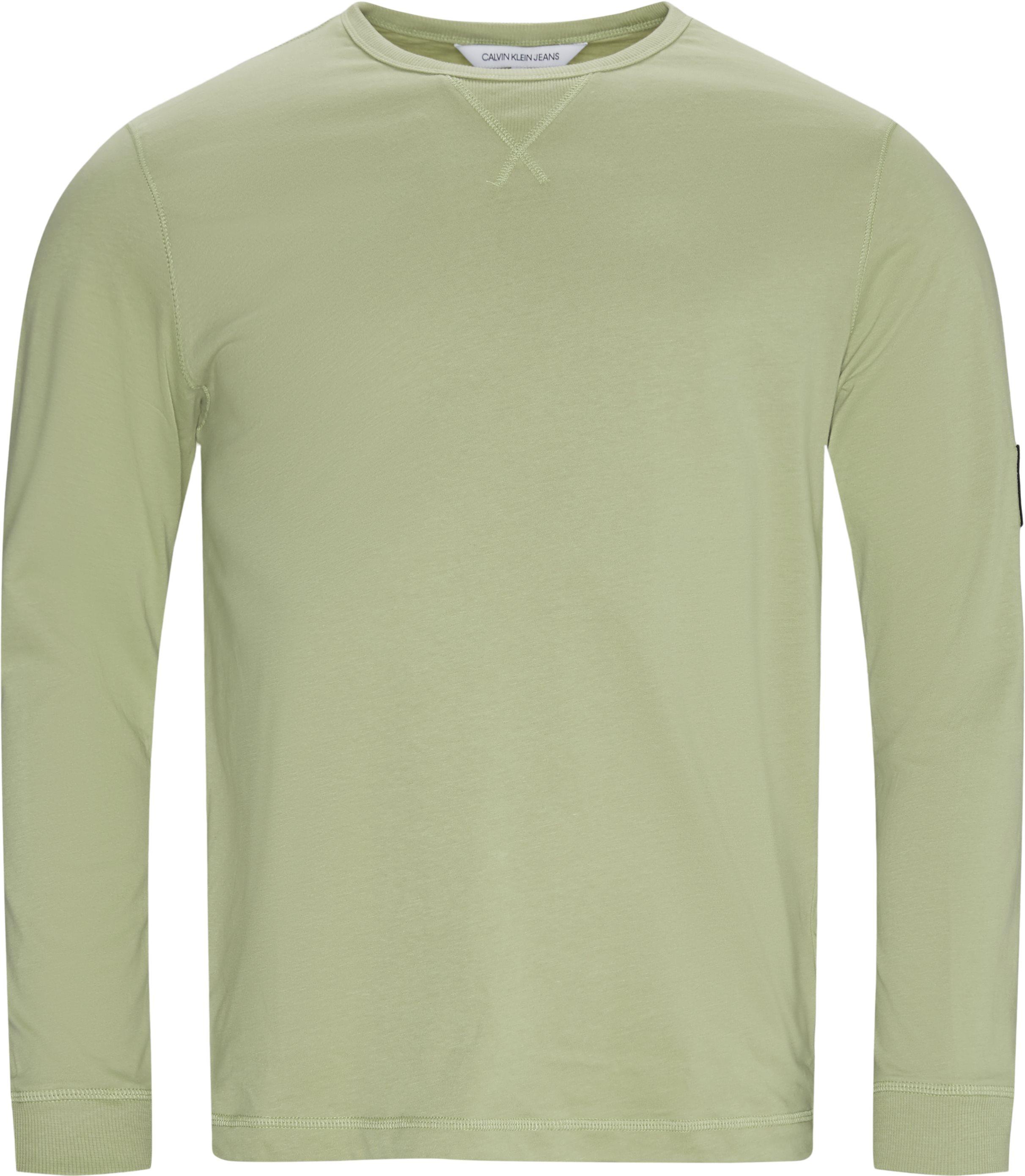 Bae LS Tee - T-shirts - Regular - Grøn