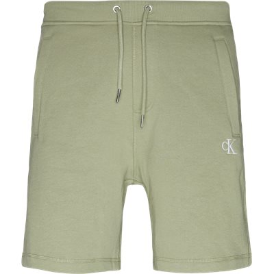 Monogram Shorts Regular | Monogram Shorts | Grøn