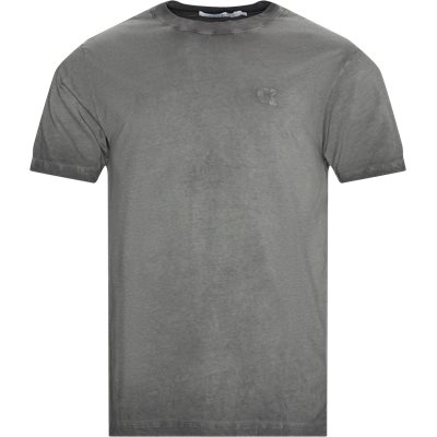 Cold Dye Tee Regular | Cold Dye Tee | Grå