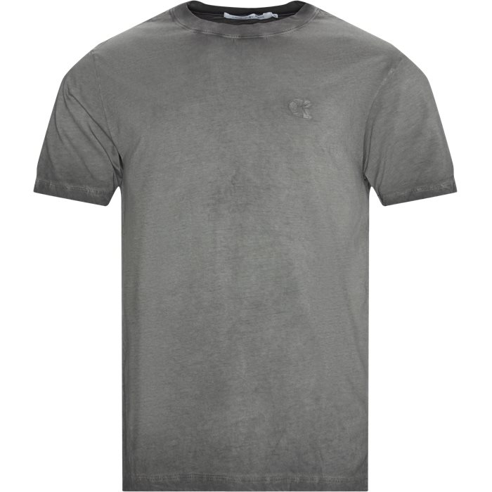 Cold Dye Tee - T-shirts - Regular - Grå