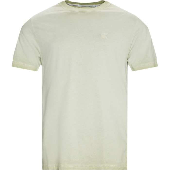 Cold Dye Tee - T-shirts - Regular - Sand
