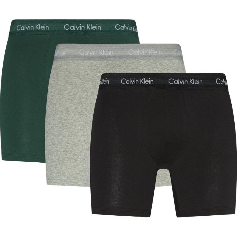 Billede af Calvin Klein 3-pack Boxer Briefs Grøn/grå/sort