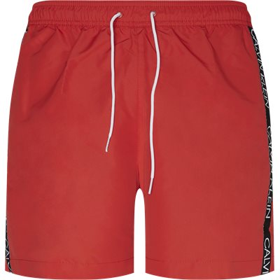 Medium Drawsting Badeshorts Regular | Medium Drawsting Badeshorts | Rød