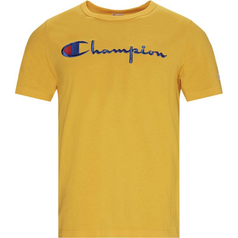 Champion full chest script tee orange fra champion på quint.dk