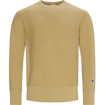 Reverse Weave Crew Neck Sweatshirt Regular | Reverse Weave Crew Neck Sweatshirt | Sand