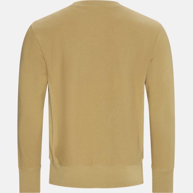 Reverse Weave Crew Neck Sweatshirt