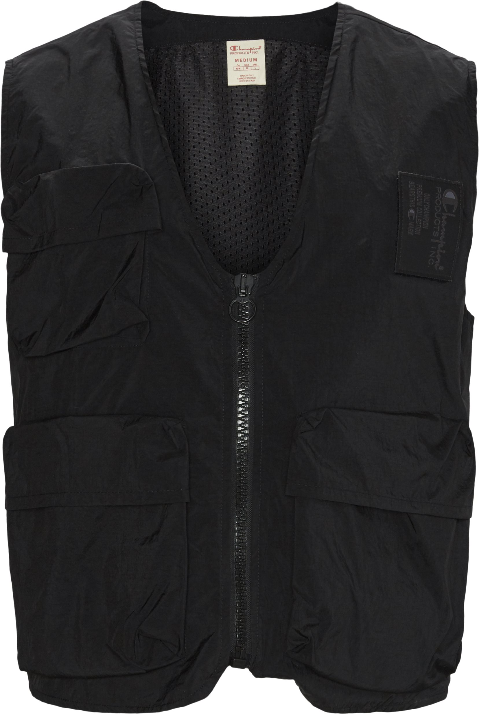Eco Warrior Vest  - Veste - Regular - Sort
