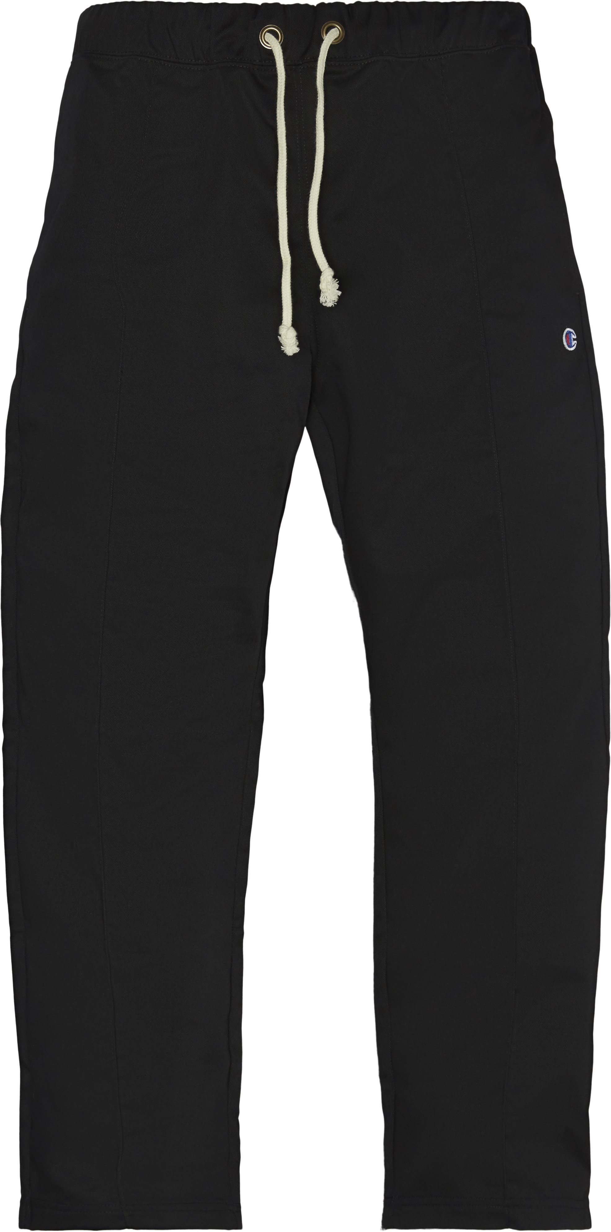 Poly Woven Pant - Bukser - Straight fit - Sort
