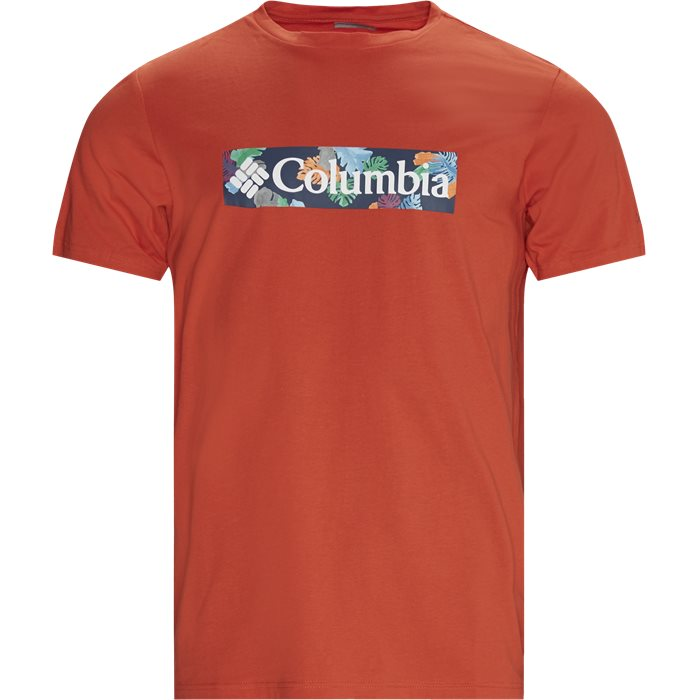 M Rapid Ridge Graphic Tee - T-shirts - Regular - Orange