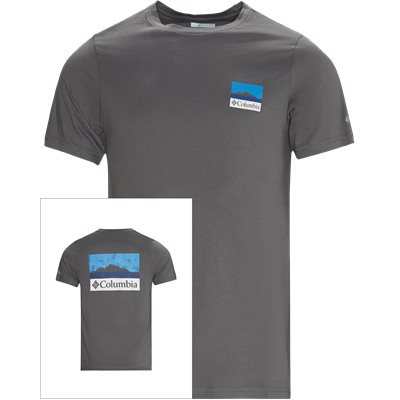 M Rapid Ridge Tee Regular | M Rapid Ridge Tee | Grå