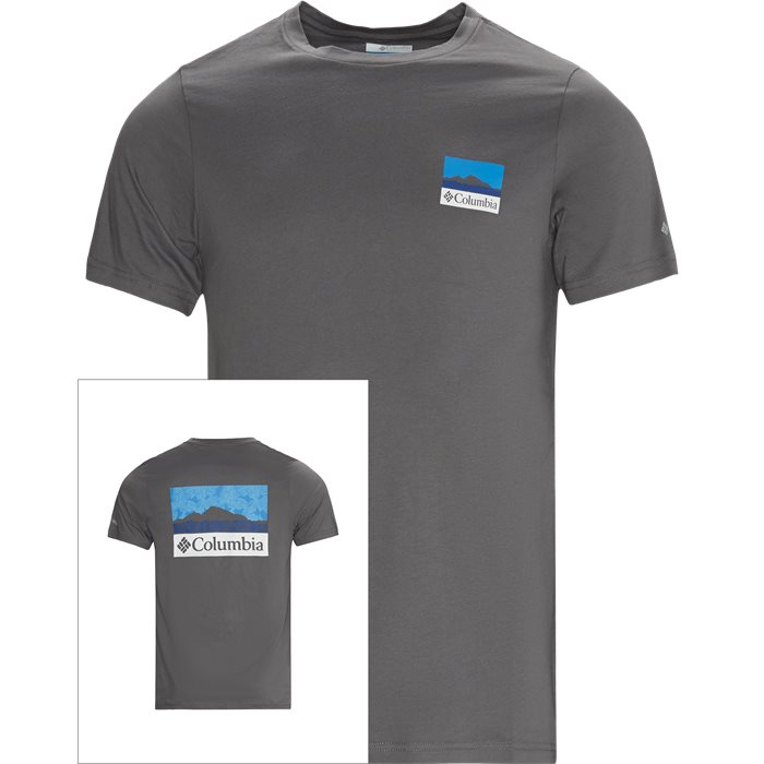 M Rapid Ridge Tee - T-shirts - Regular - Grå