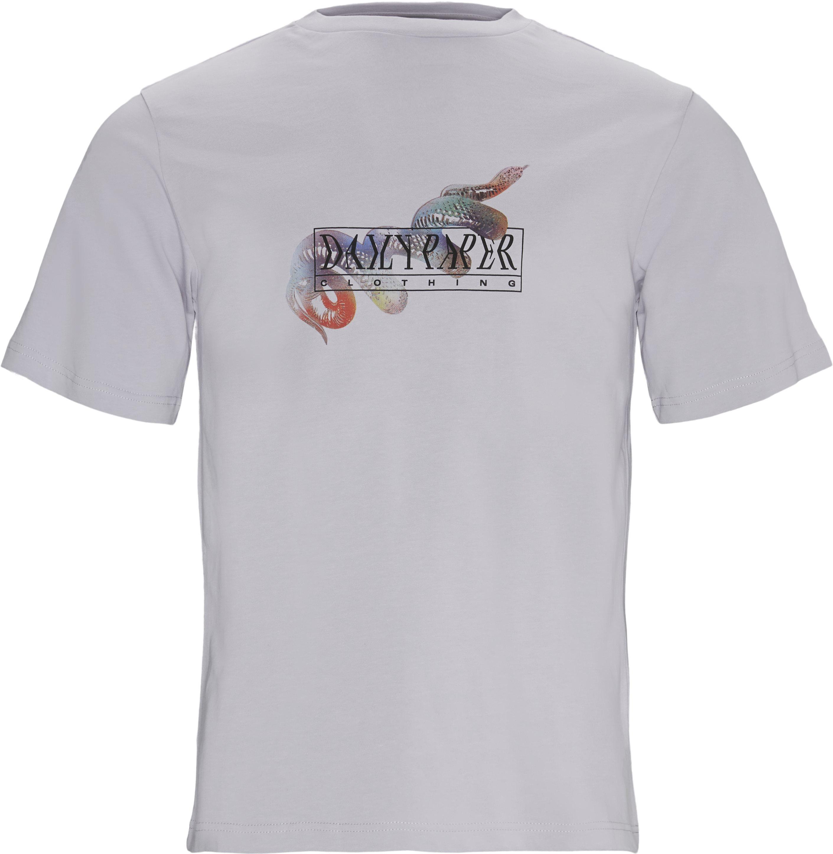 T-shirts - Regular - Lila