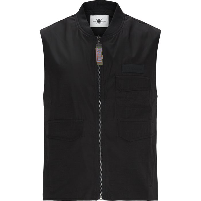 Vests - Regular - Black