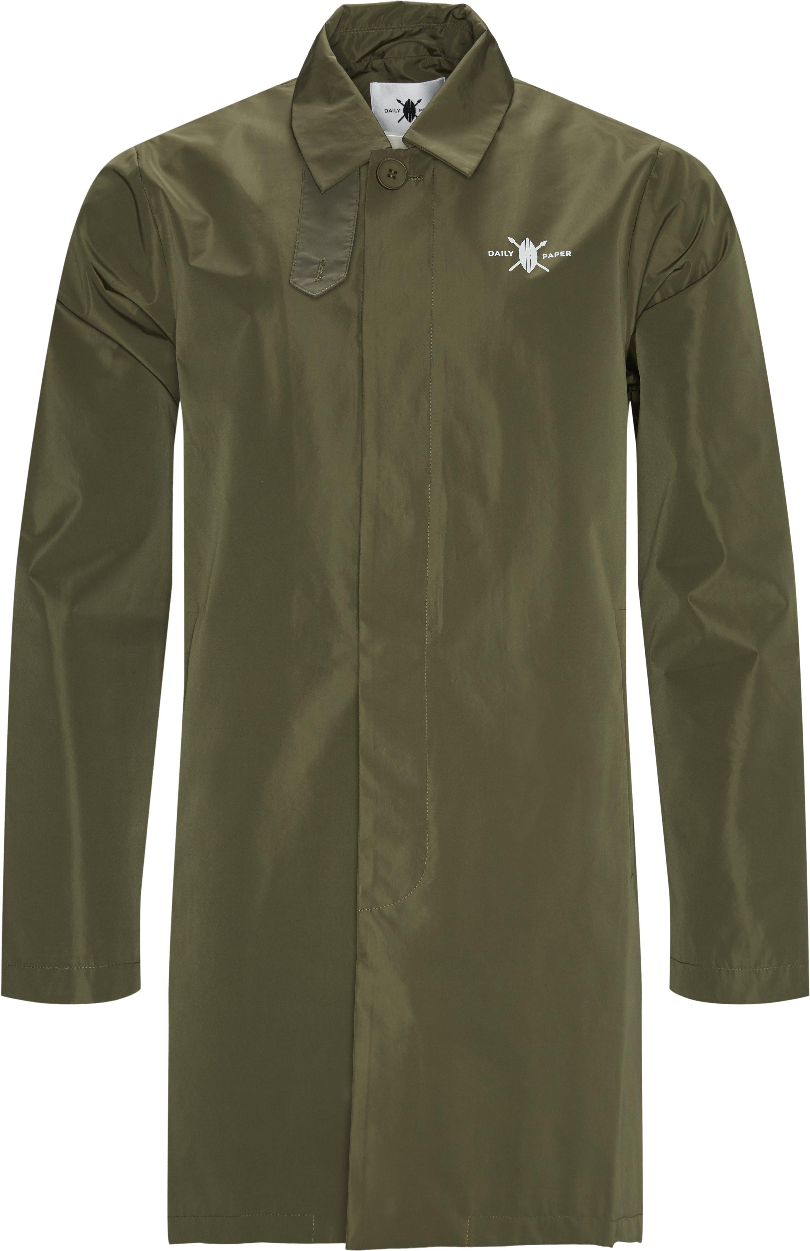 Amack Trenchcoat - Jakker - Regular - Grøn