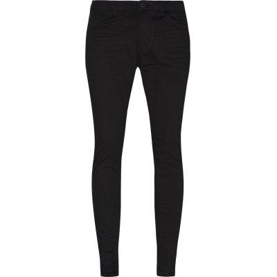 Skinny fit | Jeans | Svart
