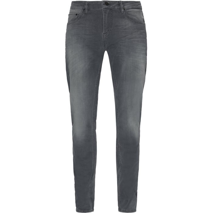 Jeans - Tapered fit - Grey