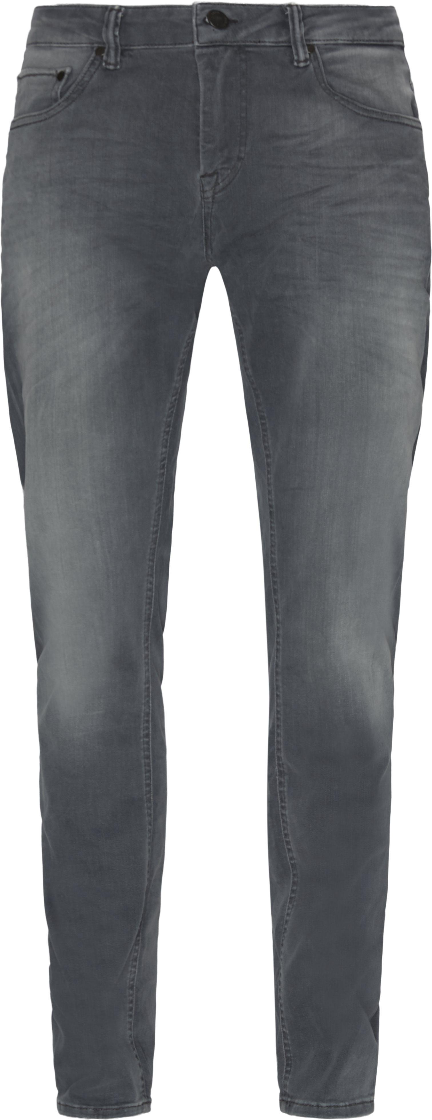 Jones Jeans - Jeans - Tapered fit - Grå