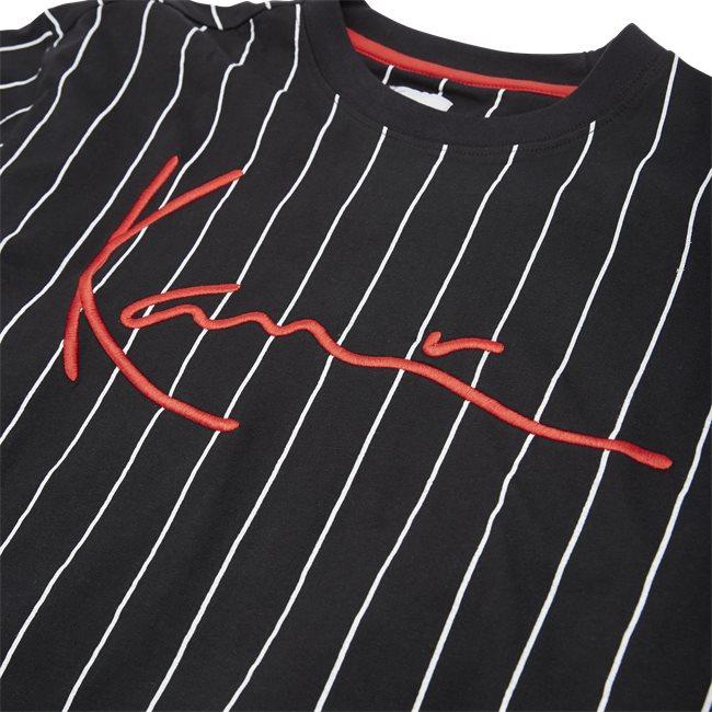 Signature Pinstripe Tee