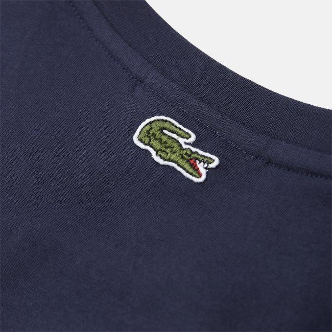 Crocodile Print Crew Neck T-shirt