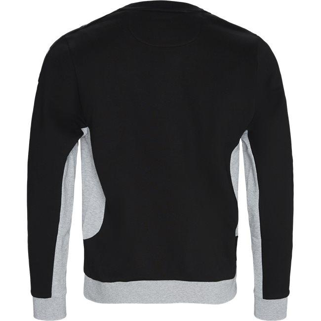Two-Tone Fleece Crewneck Sweatshirt
