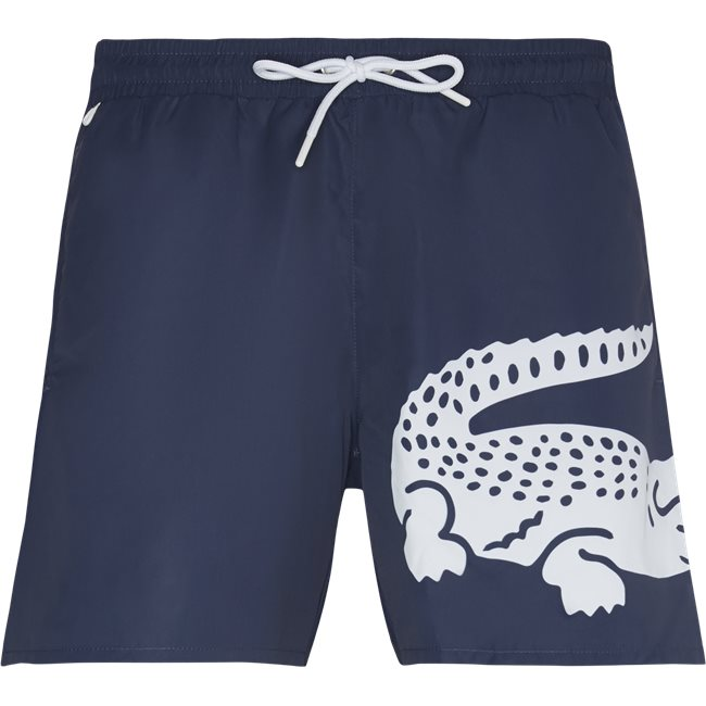 Oversized Crocodile Print Light Quick-Dry Swim Shorts