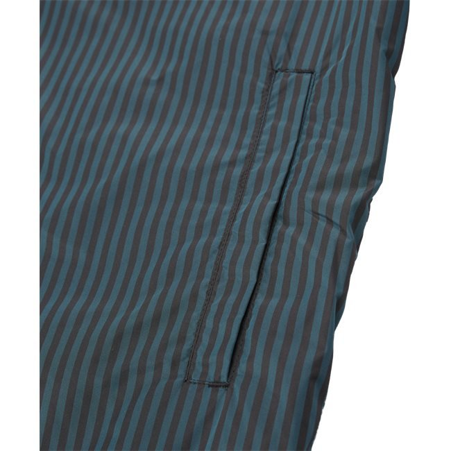 Striped Light Zip Jacket