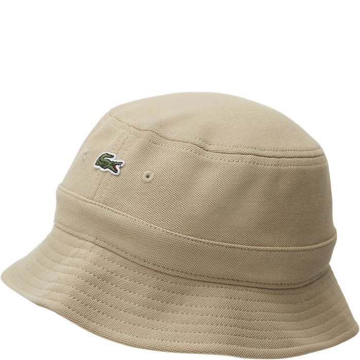 Cotton Piqué Hat - Caps - Sand