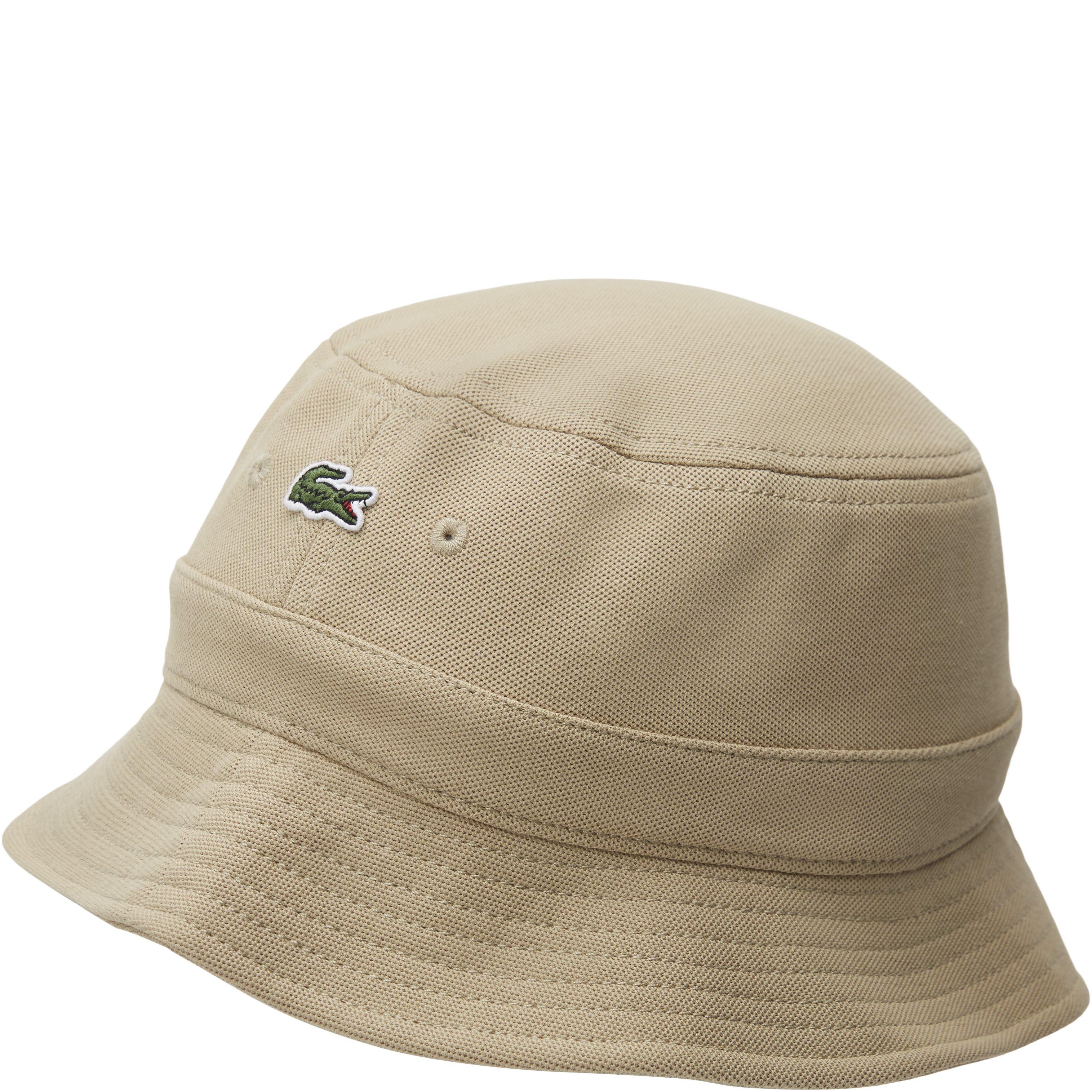 Cotton Piqué Hat - Caps - Sand
