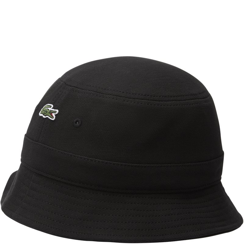 Image of   Lacoste Cotton Piqué Hat Sort