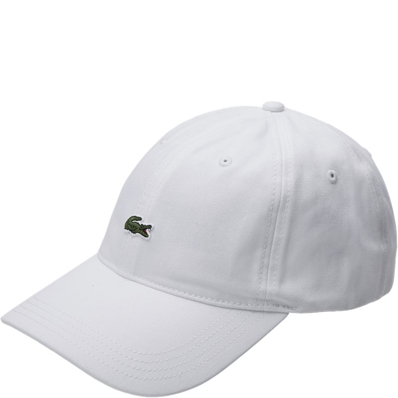 Image of   Lacoste Logo Cap Hvid