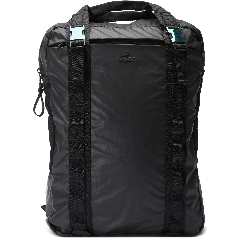 Altitude Detachable Pouch Ultra-Light Foldable Backpack - Tasker - Sort