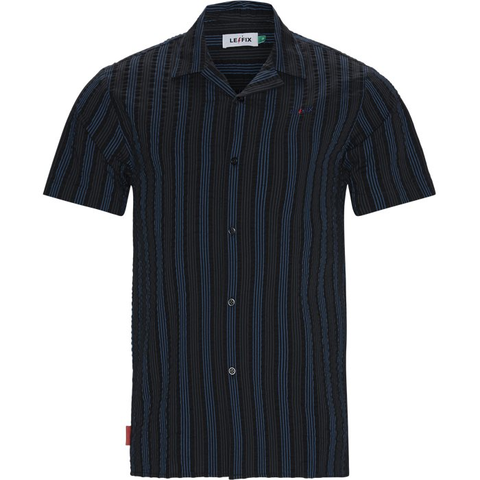 Vertical Shirt - Skjorter - Regular - Sort