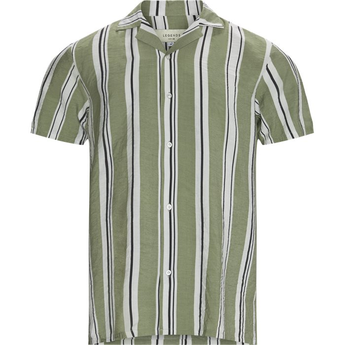 Clark Shirt - Skjorter - Regular - Grøn
