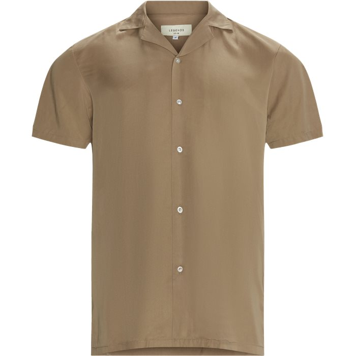 Clark Shirt - Skjorter - Regular - Sand