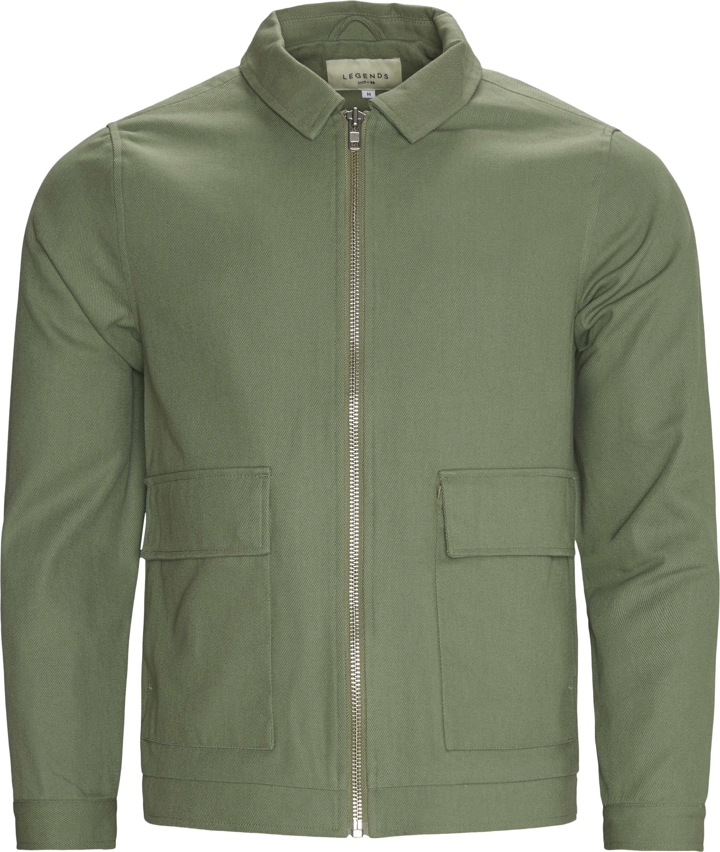 Ortega Jacket - Jakker - Regular - Grøn