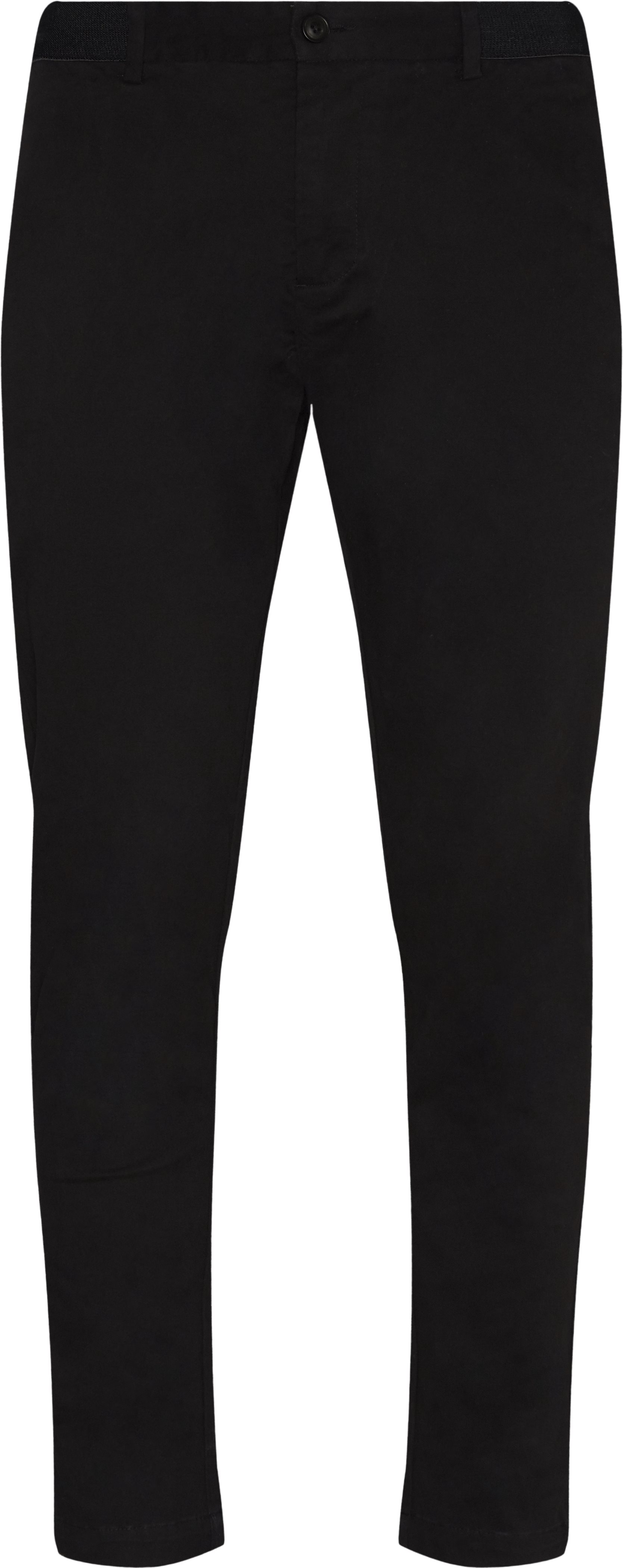 Century Trousers - Bukser - Tapered fit - Sort