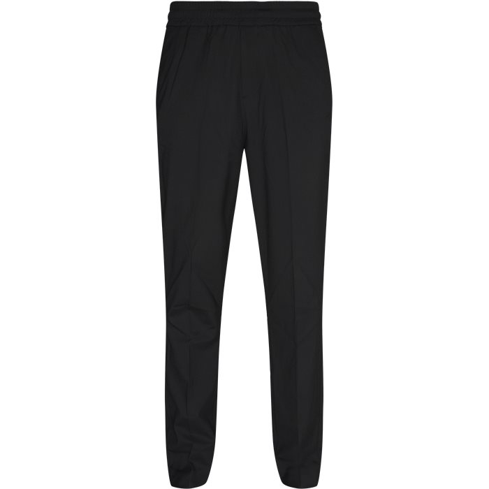 Trousers - Loose - Black