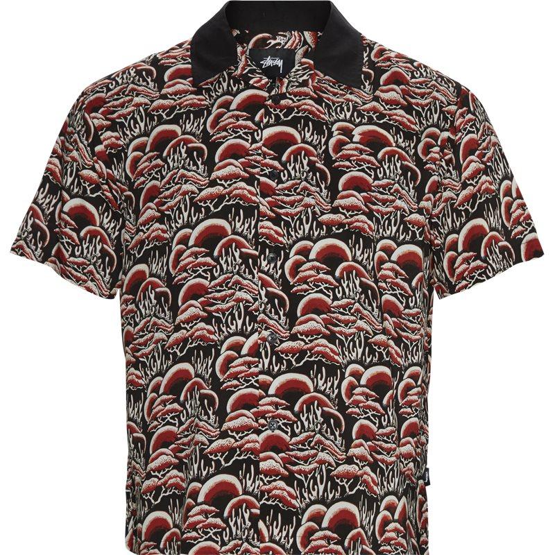 Billede af Stüssy Coral Pattern Shirt Rød