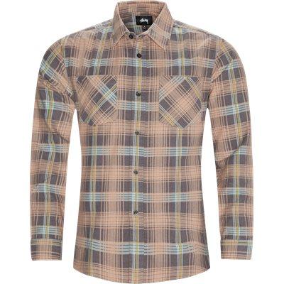 Lawrence Plaid Shirt Regular fit | Lawrence Plaid Shirt | Orange