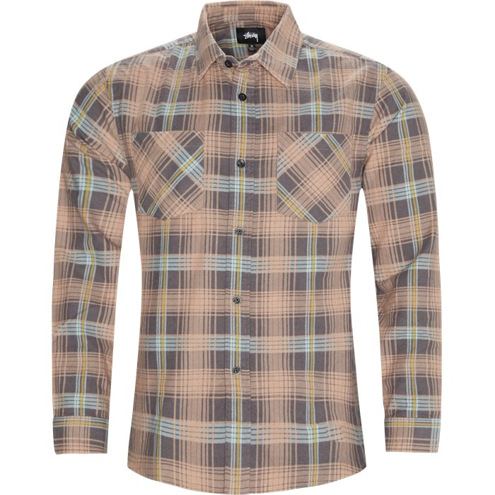 Lawrence Plaid Shirt - Skjorter - Regular - Orange