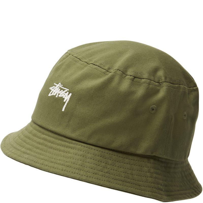 stüssy – Stüssy stock bucket hat grøn fra quint.dk
