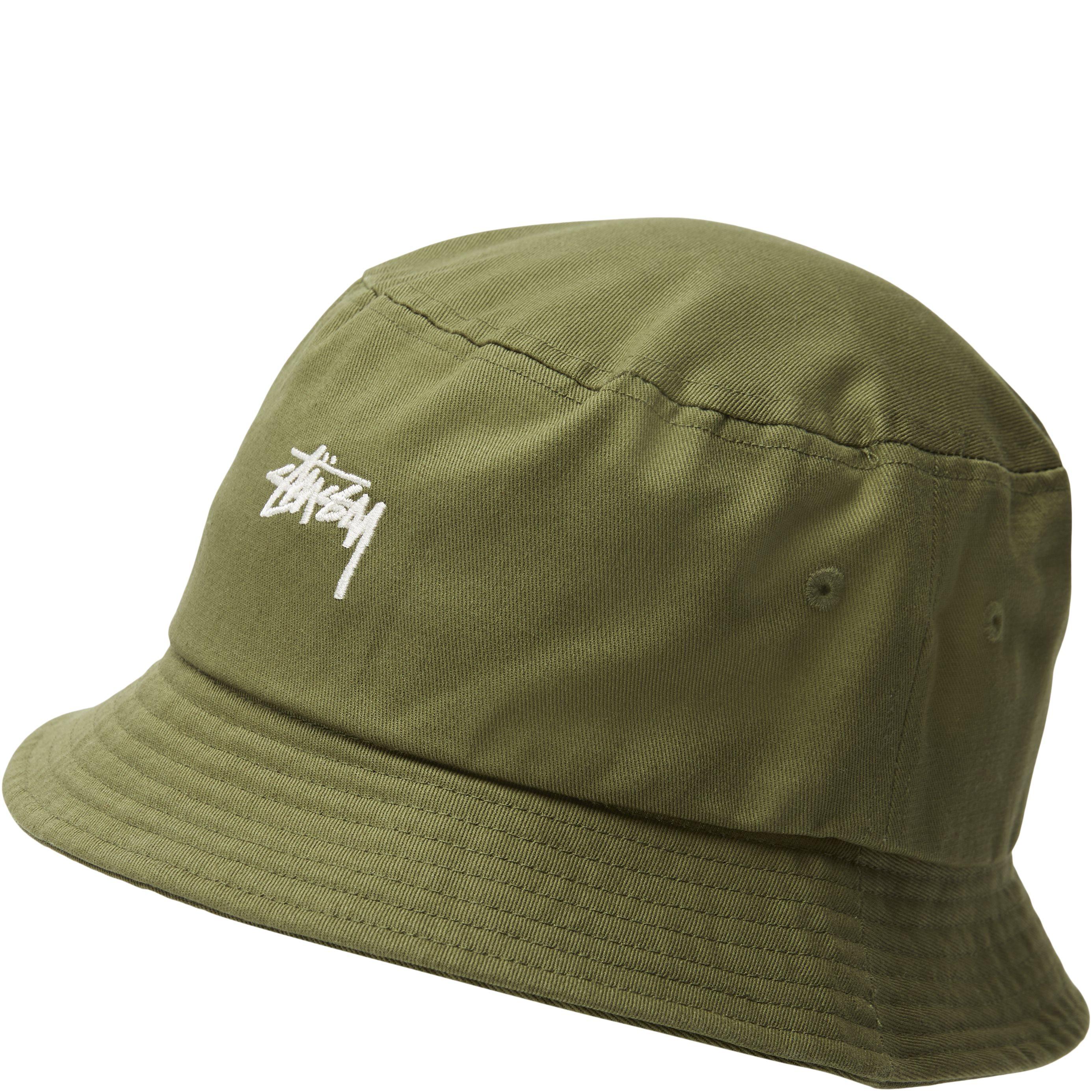 Stock Bucket Hat - Caps - Grøn