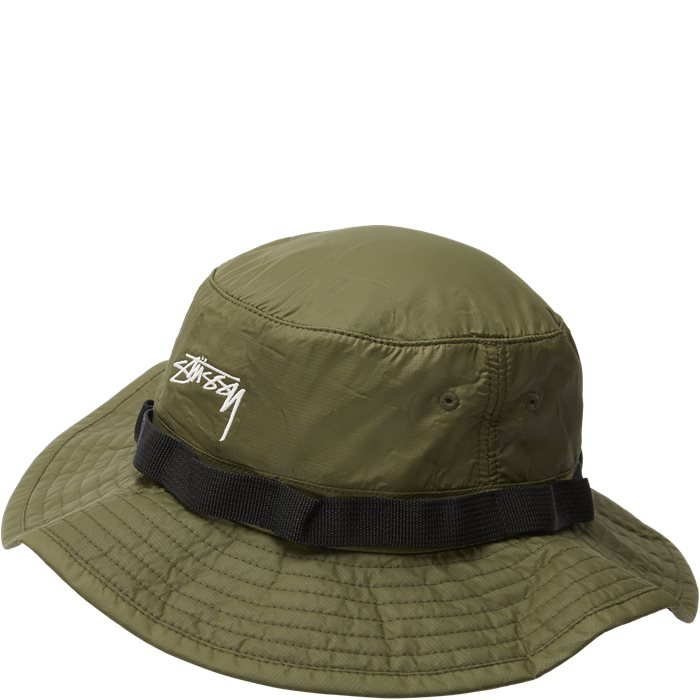 2 Tone Nylon Hat - Caps - Grøn