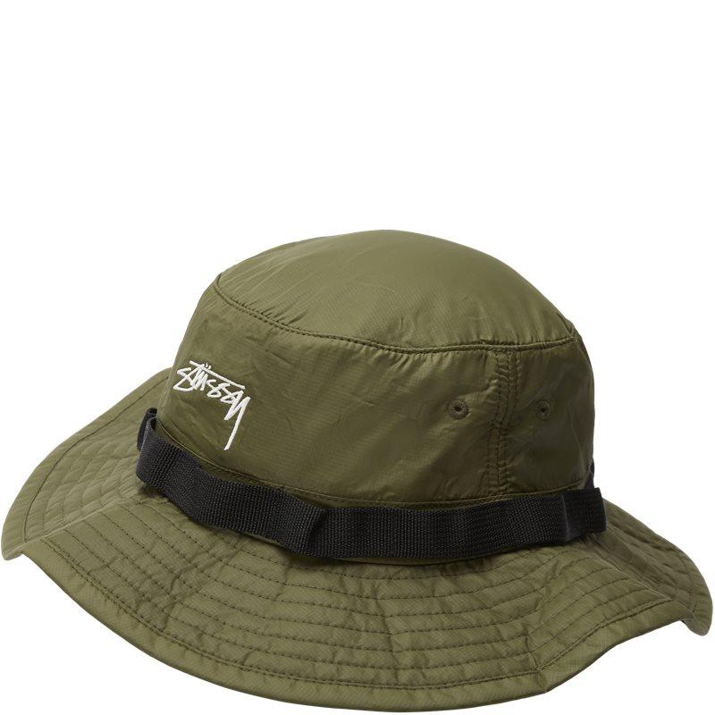 Image of   Stüssy 2 Tone Nylon Hat Grøn