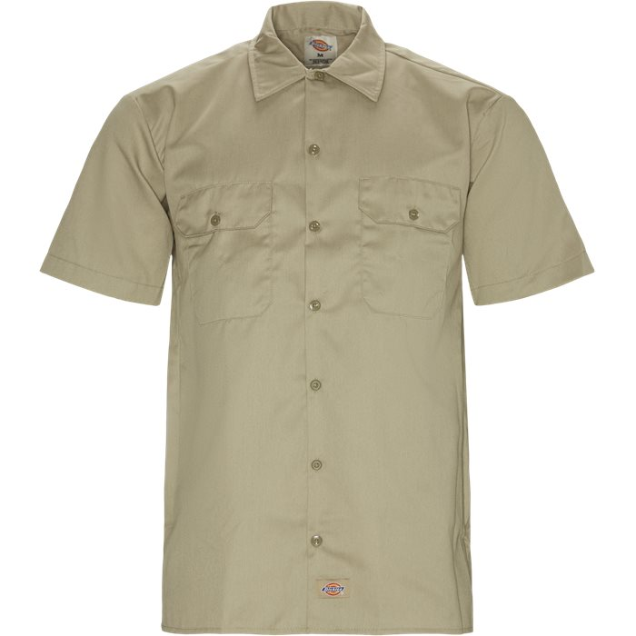 Work Shirt - Skjorter - Regular - Sand