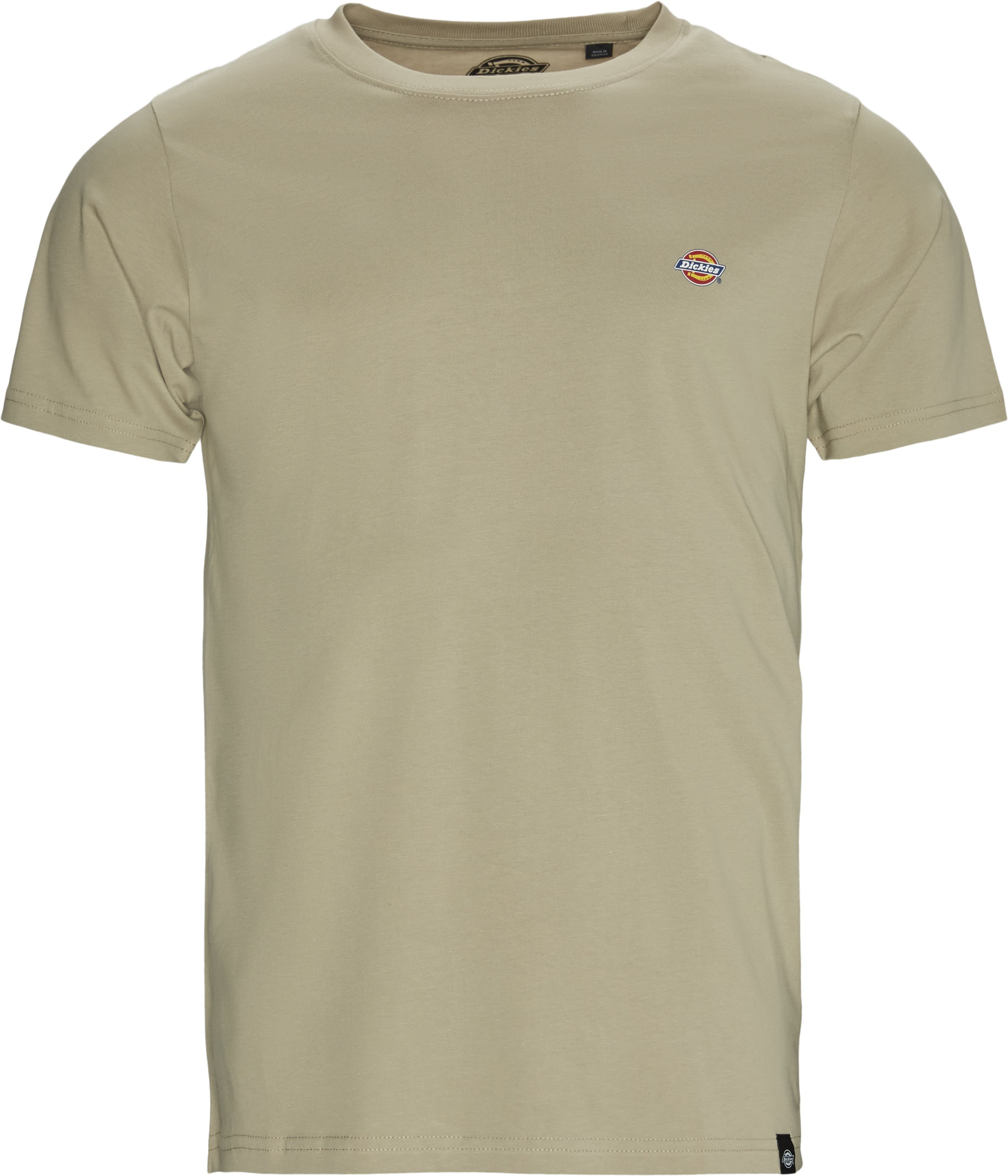 Stockdale Tee - T-shirts - Regular - Sand