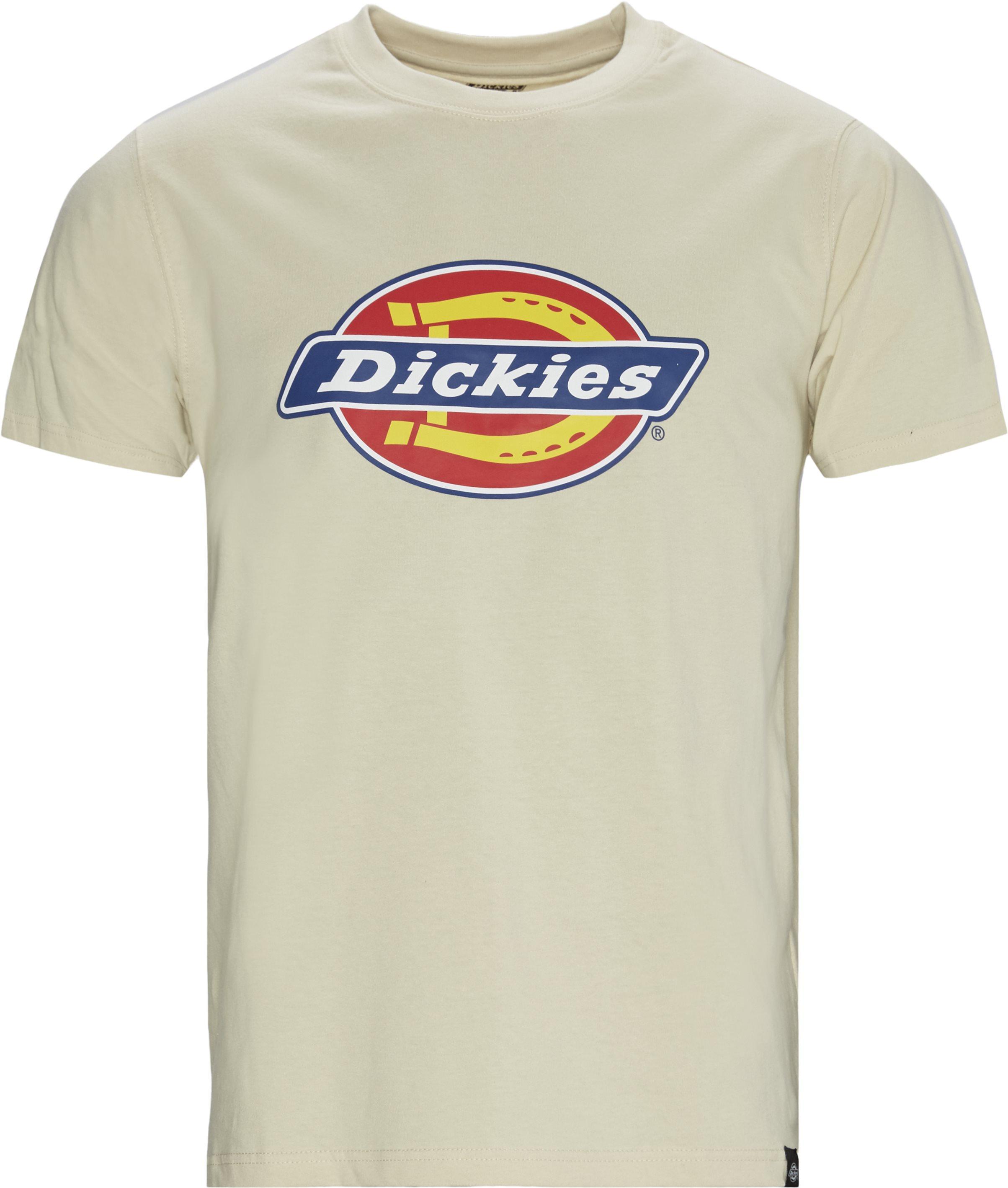 Horseshoe Tee - T-shirts - Regular fit - Sand