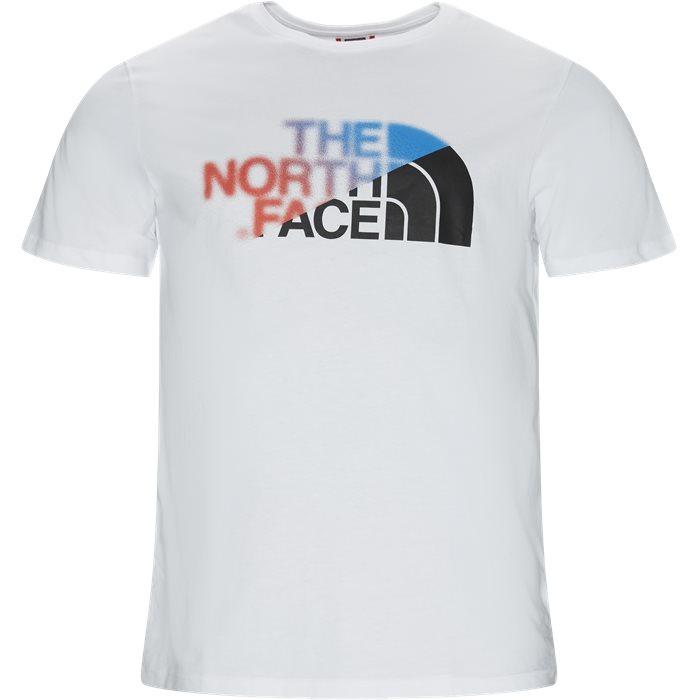 SS BD GLS Tee - T-shirts - Regular - Hvid